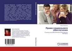 Право социального обеспечения kitap kapağı