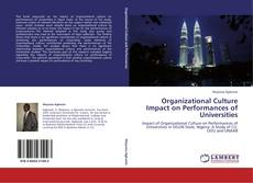 Bookcover of Organizational Culture Impact on Performances of Universities