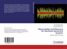 Bookcover of Observability and Observers for Nonlinear Dynamical Sysyems
