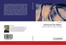 Bookcover of Acting Out the Myths: