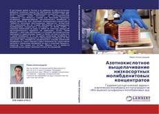 Обложка Азотнокислотное выщелачивание низкосортных молибденитовых концентратов