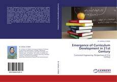 Capa do livro de Emergence of Curriculum Development in 21st Century