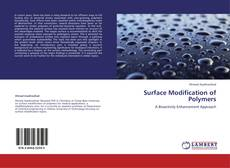 Buchcover von Surface Modification of Polymers