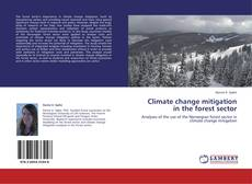 Capa do livro de Climate change mitigation in the forest sector