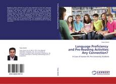 Buchcover von Language Proficiency and Pre-Reading Activities: Any Connection?
