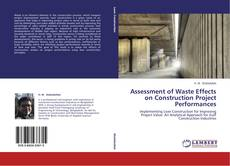 Assessment of Waste Effects on Construction Project Performances的封面