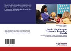 Bookcover of Quality Management Systems in Secondary Schools