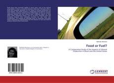 Food or Fuel? kitap kapağı