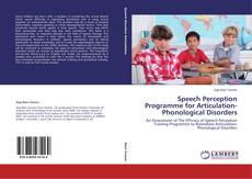 Speech Perception Programme for Articulation-Phonological Disorders的封面