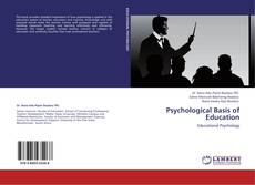 Psychological Basis of Education kitap kapağı