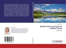 Обложка Realist Texts and Texts of Implied Sense