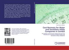 Bookcover of Cost Recovery for Water and Sanitation Utility Companies in Zambia