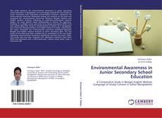 Environmental Awareness in Junior Secondary School Education kitap kapağı