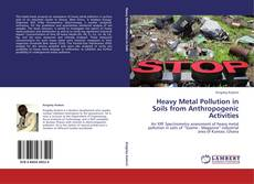 Buchcover von Heavy Metal Pollution in Soils from Anthropogenic Activities