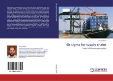 Couverture de Six sigma for supply chains