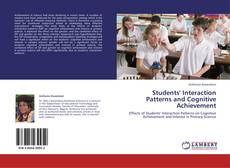 Bookcover of Students' Interaction Patterns and Cognitive Achievement