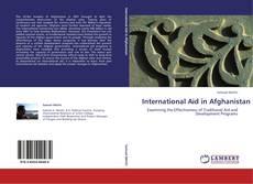 Bookcover of InternationalAidinAfghanistan