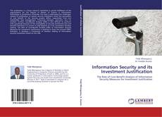 Information Security and its Investment Justification kitap kapağı