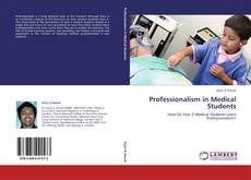Capa do livro de Professionalism in Medical Students