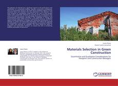 Materials Selection in Green Construction的封面