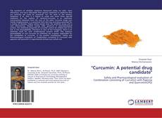 """Capa do livro de """"Curcumin: A potential drug candidate"""""""