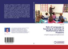 Обложка Role of Language in Teaching & Learning of Mathematical Word Problems