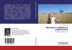 Феномен свободы в педагогике kitap kapağı