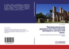 Bookcover of Провинциальное дворянство Российской империи в начале ХХ века: