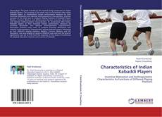 Characteristics of Indian Kabaddi Players kitap kapağı