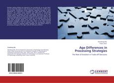 Portada del libro de Age Differences in Processing Strategies
