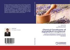 Buchcover von Chemical Constituents of Zygophyllum eurypterum