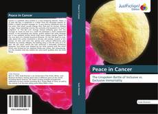Bookcover of Peace in Cancer