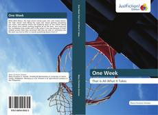 Bookcover of One Week