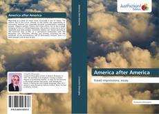 Bookcover of America after America