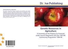 Bookcover of Genetic Resources in Agriculture