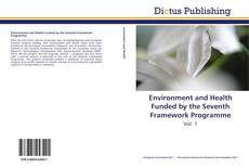 Bookcover of Environment and Health Funded by the Seventh Framework Programme
