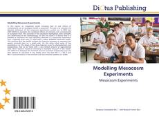 Bookcover of Modelling Mesocosm Experiments