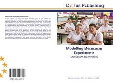 Couverture de Modelling Mesocosm Experiments