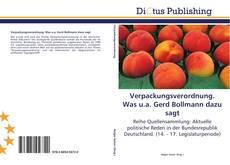Обложка Verpackungsverordnung. Was u.a. Gerd Bollmann dazu sagt