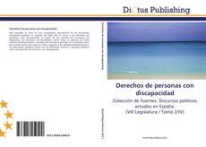 Bookcover of Derechos de personas con discapacidad