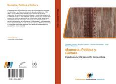Copertina di Memoria, Política y Cultura