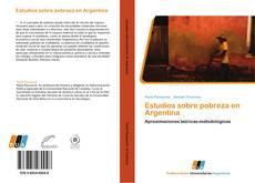 Copertina di Estudios sobre pobreza en Argentina