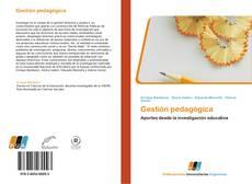 Bookcover of Gestión pedagógica