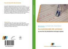 Bookcover of La corrección de errores