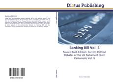Bookcover of Banking Bill Vol. 3