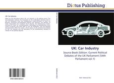 Capa do livro de UK: Car Industry
