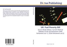 UK: Fuel Poverty Bill kitap kapağı