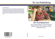 Bookcover of UK: Unemployment