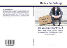 UK: Unemployment vol. 2 kitap kapağı
