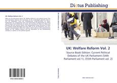Portada del libro de UK: Welfare Reform Vol. 2